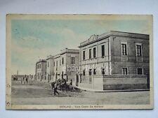 LIBIA Bengasi Viale De Martino colonie coloniali AOI vecchia cartolina