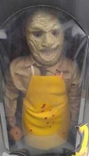 Spencer Gifts 18 Inch Talking Leatherface Numbered Horror Collector Series Ed