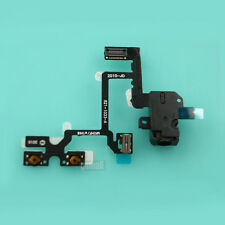 New Headset Audio Jack Power Volume Button Key Flex Ribbon For iPhone 4 4G Black