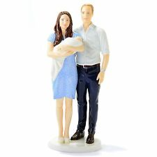 """Royal Doulton Prince George A ROYAL FAMILY BIRTH 10"""" FIGURINE Limited Edition"""
