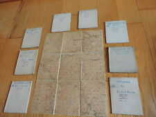 Old LOT Railroad Topography PA Pennslvania Maps Uniontown Allensville Hallton+