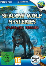 Shadow Wolf Mysteries: Spuren des Terrors (PC, 2016, DVD-Box)