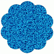 Nonpareils Non-Pareils Sprinkles Cookie Cake Cupcake Decorating - BLUE 4 oz.