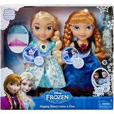 Disney Frozen Singing Sisters Elsa and Anna Dolls For Kids Little Girls