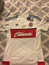 New Xolos De Tijuana 2016-2017 Liga MX Away White Soccer Jersey Size XL