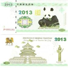 China 100 Yuan 2013 NEUF NEW Panda Fantasy Test Note Banknote w/ Folder