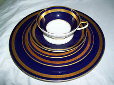 Rosenthal Eminence Cobalt ( 1 ) Place Setting 5 Pieces  Gorgeous and Never Used!