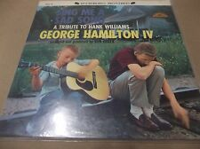 George Hamilton IV Sing me a sad Song 1958  Stereo LP TRIBUTE HANK WILLIAMS