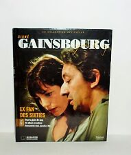 LIVRE  SIGNE GAINSBOURG AVEC CD COLLECTOR ILLUSTREE EX FAN DES SIXTIES