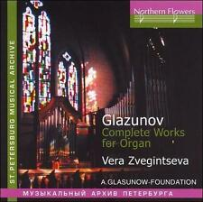 Zveginseva - A. Glazunov - Complete Works For Organ [CD New]