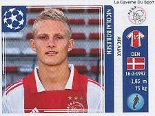 N°249 BOILESEN # DENMARK AFC.AJAX STICKER CHAMPIONS LEAGUE 2012 PANINI