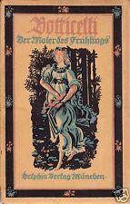 Botticelli - Der Maler des Frühlings, Kleine Dephin-Kunstbücher, 23. Bd., 1922