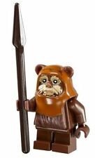 LEGO STAR WARS MINFIGURE WICKET EWOK WITH PRINTED FACE EWOK VILLAGE 10236