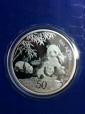 China 2012 Silver 5 Oz Panda Coin - 30th Anni. of the Issuance of Panda Coin