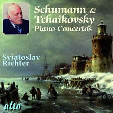 CD SCHUMANN & TCHAIKOVSKY PIANO CONCERTOS SVIATOSLAV RICHTER