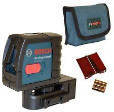 Bosch Linienlaser GLL 2-15 incl. Multifunktionshalterung  und Schutztasche