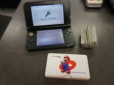 Black Nintendo 3DS XL Handheld Console w/ 9 Games, 4GB SD Card, and Power Supply