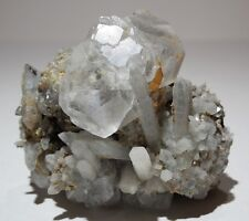 "Clear Fluorite and Quartz crystals Dal'negorsk Russia Aesthetic Classic 2.5""219g"
