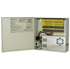 CCTV SECURITY CAMERA POWER Supply Distribution Box 12V DC 16ch 30 Amps PTC Fuse