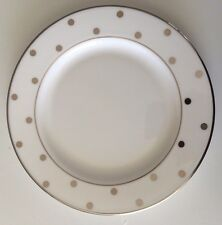 NEW - KATE SPADE NEW YORK by LENOX LARABEE ROAD PLATINUM BREAD & BUTTER PLATE