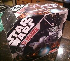 STAR WARS 30TH ANNIVERSARY TIE BOMBER VEHICLE  WITH PILOT TARGET EXCLUSIVE NISB