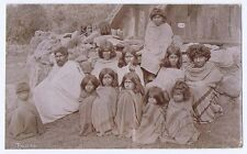 INDIA Group of TODA People - Antique Photograph c1900
