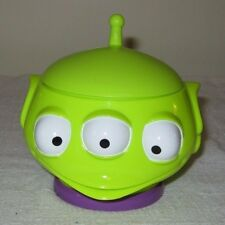"""Disney """"Toy Story on Ice""""  Souvenir Cup/mug with lid ~GREEN ALIEN Guy"""