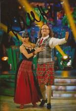 STRICTLY COME DANCING: KAREN CLIFTON SIGNED 6x4 ACTION PHOTO+COA