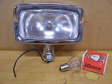 Vintage NOS Chopper Bobber 6 Volt / 12 Volt Motorcycle Headlight Head Light
