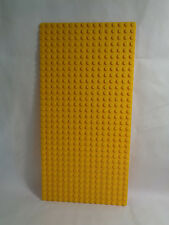 "LEGO Large 16 X 32  - 10"" X 5"" Bright Yellow Standard Flat Base Plate"