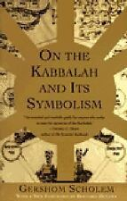 On the Kabbalah and Its Symbolism by Gershom Scholem (1996, Paperback)