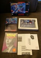 Mega Man X Super Nintendo SNES ~ Complete In Box! ~ Game Is Mint! ~ Box Is Not
