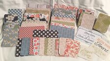 Set of 60 Hand Cut Project Cards for Pocket Life Journaling Letters Tags New