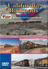California Railroads in the 1980's DVD NEW Cvision Amtrak, SP, SF, NWP, CCTC, ES