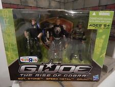 GI JOE ~ 2009 SENIOR RANKING OFFICERS~ 25TH ~ SPEED METAL SGT. STONE GRUNT ~ TRU