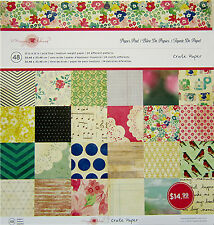 Crate Paper (Maggie Holmes) 12x12 Paper Pad - 48 Sheets