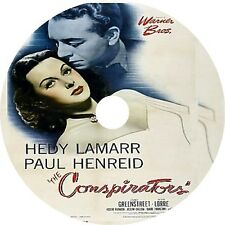 The Conspirators - Hedy Lamarr Paul Henreid Sydney Greenstreet V rare 1944