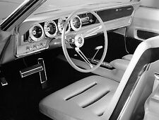 Dodge Charger II Concept Car Interior  8 x 10  Photograph