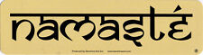 Namaste - Spiritual Magnetic Bumper Sticker / Decal Magnet