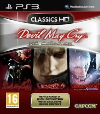 Ps3 juego Devil May Cry-HD Collection-trilogía Trilogy HD 1 2 3 nuevo
