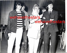 Vintage ZsaZsa Gabor & THE BEATLES 60s IN LONDON Candid Portrait by COLRAM