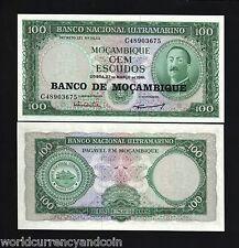 MOZAMBIQUE 100 ESCUDOS P117 1976 *BUNDLE* STEAM SHIP UNC AFRICA CURRENCY 100 PCS
