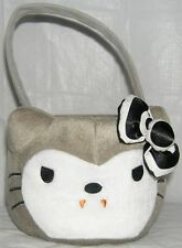 HELLO KITTY HALLOWEEN BASKET PLUSH VAMPIRE TRICK OR TREAT FREE USA SHIPPING NWT