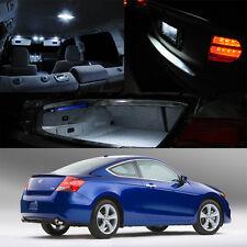 08-12 Honda Accord v6 2Dr Interior LED HID Xenon Light Bulb Full Package (White)
