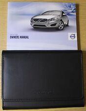 VOLVO v60 Manuale Proprietari Manuale Wallet 2010 - 2013 confezione 2520