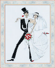 Riolis Counted Cross Stitch Kit - Wedding Tango