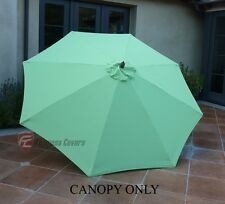 9ft Patio Outdoor Yard Umbrella Replacement Canopy Cover Top 8 Ribs Lime