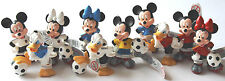 Bullyland Disney Goal WM 2014 Spielset 10 Figuren Mickey Minnie Donald komplett