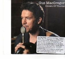 (FT200) Gus MacGregor, Crown Of Thorns - 2011 DJ CD