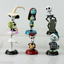 Nightmare Before Christmas Cake Decoration Set - Topper 6 pcs Figures & Birthday